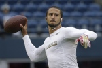 San Francisco 49ers quarterback Colin Kaepernick warms up before the NFL football NFC Championship game against the Seattle Seahawks Sunday, Jan. 19, 2014, in Seattle. (AP Photo/Matt Slocum)