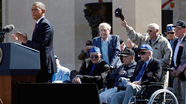 U.S. President Barack Obama on D-Day