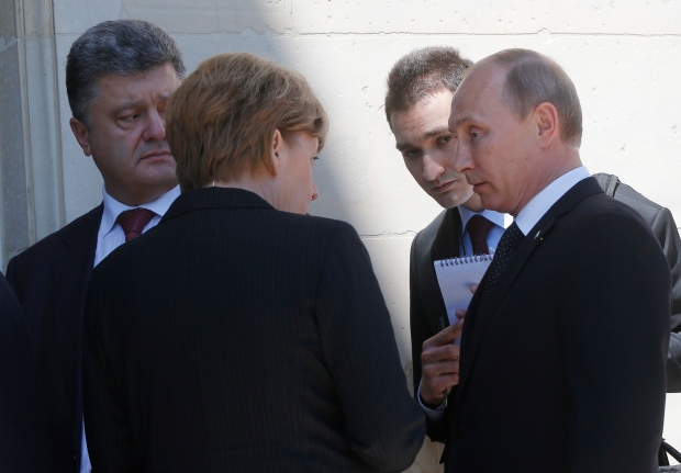 Russia, Ukraine leaders