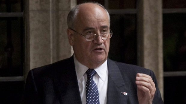 Member of Parliament Julian Fantino responds to a question during Question Period in the House of Commons in OTTAWA, ON Thursday November 17, 2011.