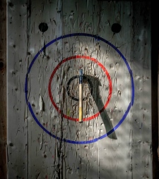 Axe throwing league has big plans for future