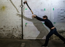 Axe throwing growing in popularity in Toronto