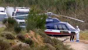 Helicopter prison break