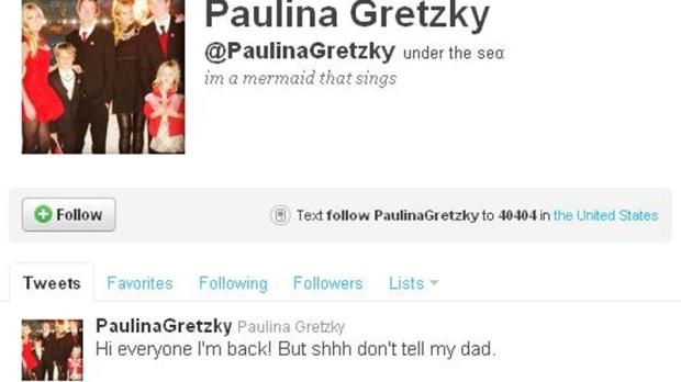 Is Paulina Gretzky back on Twitter?   CTV News