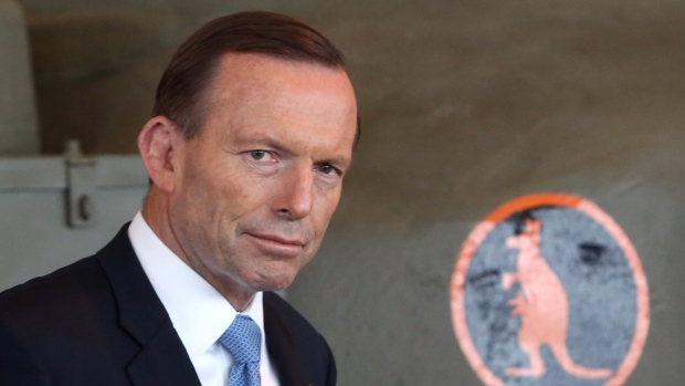 Tony Abbott mispronounces Canada