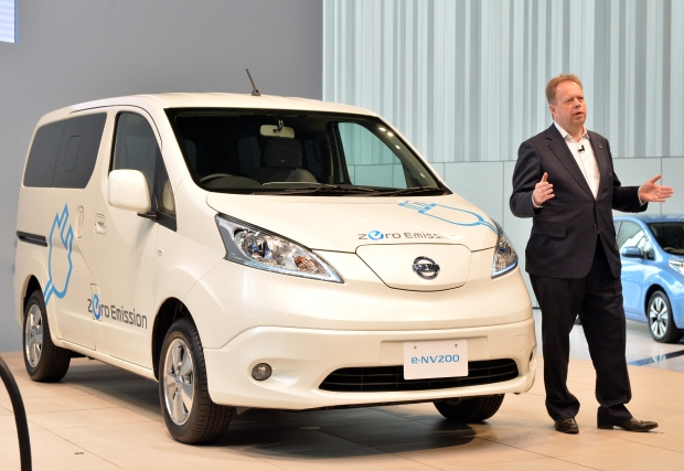 Nissan introduces new, all-electric vehicles
