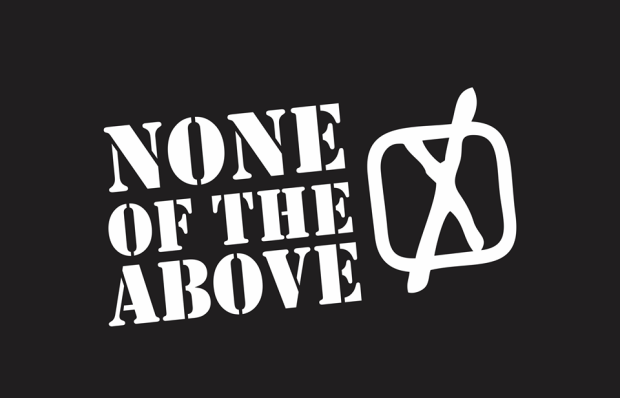 None of the Above Party provides alternative