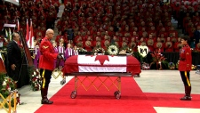 Moncton funeral underway for fallen RCMP officers