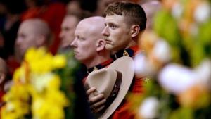 Funeral service for fallen Mounties DIGITAL EXTRA