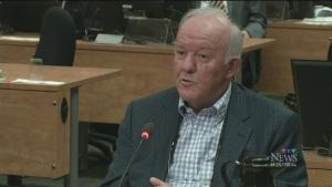 Marc-Yvan Coté testifies before the Charbonneau Commission on June 10, 2014