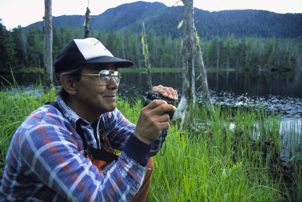 Native hunter and fisherman Chester Starr of the Heiltsuk Nation at Bella Bella, B.C. is shown in a handout photo. THE CANADIAN PRESS/HO