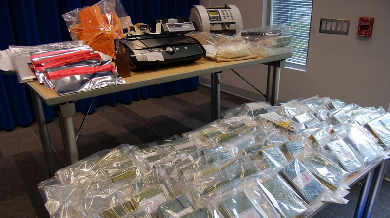 Heroin bust at YVR