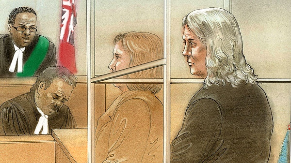 Patricia O'Byrne made a brief court appearance on Monday, Dec. 5, 2011. (CTV NEWS/John Mantha)
