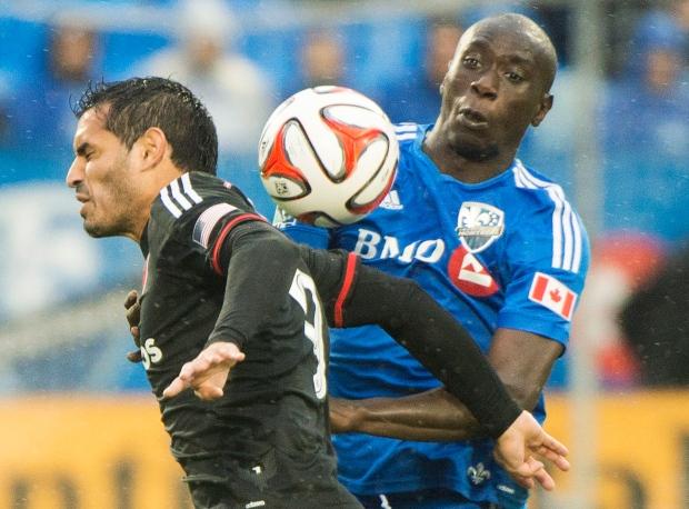 Montreal Impact's Hassoun Camara