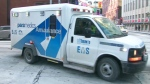 A Toronto EMS ambulance. (file)