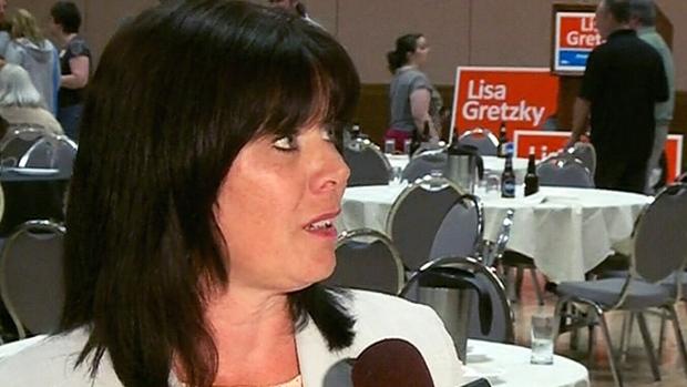 NDP Windsor West MPP Lisa Gretzky