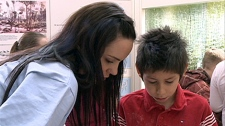 The Kamskenow Program is designed to get Aboriginal youth excited about science. And according to students, like 10-year-old Ethan Pelletier, it�s working, �