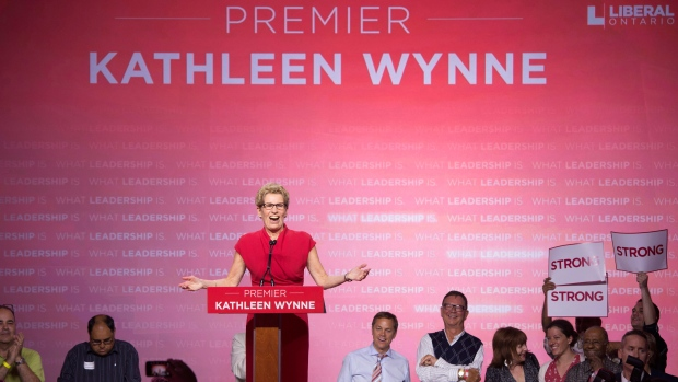 Wynne distinguished herself from McGuinty