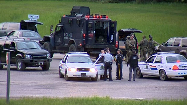 Search For Armed Suspect Ends After Standoff Near Bowden