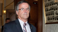 Chomedey MNA Guy Ouellette is seen in a photo take