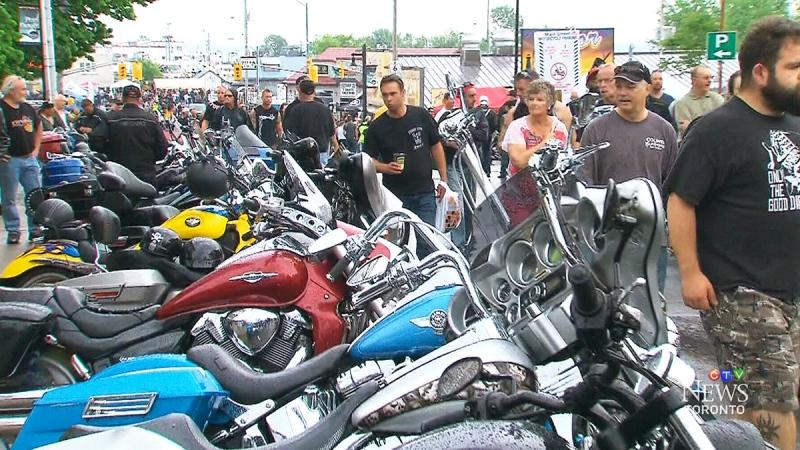 CTV Toronto: Bikers hit the streets of Port Dover