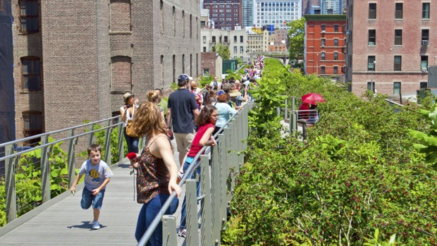NYC's High Line turns 5