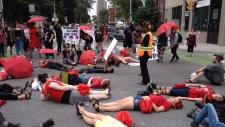 Sex workers protest prostitution legislation
