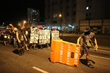 World Cup protesters rally in Rio