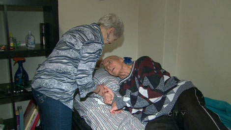 Loucia Linkert, 59, (left) and Andrew Linkert, 72, shared their story with CTV News.
