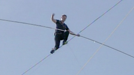 AM: Nik Wallenda on hopes to cross Niagara Falls