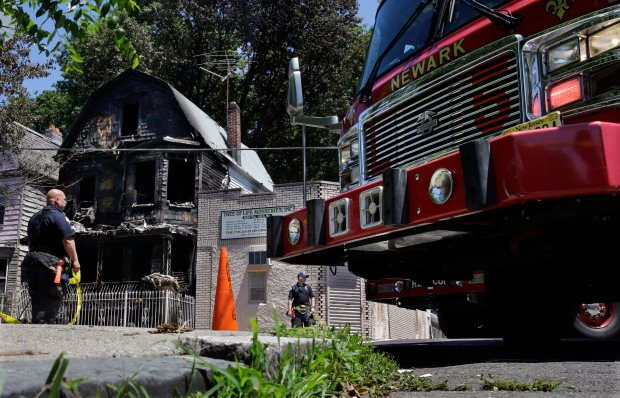 Mother, son on Father's Day visit die in fire