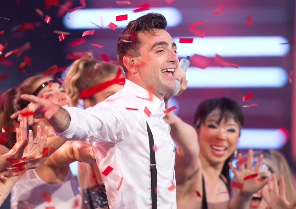Hedley performs during the 2014 Much Music Video Awards in Toronto on Sunday, June 15, 2014. (Chris Young / THE CANADIAN PRESS)