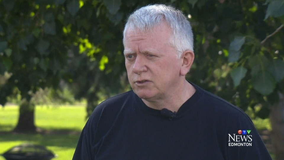 Greg Armour speaks about his harrowing encounter with a black bear while on a jog in Fort McMurray with CTV Edmonton.