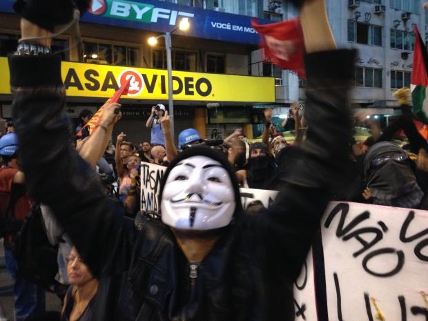 Fifa protest
