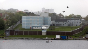 Her Majesty's Penitentiary, a minimum security penitentiary in St. John's, NL, overlooks Quidi Vidi Lake on June 9, 2011. (CP)