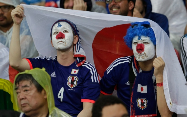Brazil Japan fans