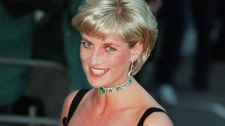 Princess Diana smiles as she arrives at the Tate Gallery in London, to attend the Centenary Gala honouring the museum, July 1, 1997. (AP / Jacqueline Arzt)