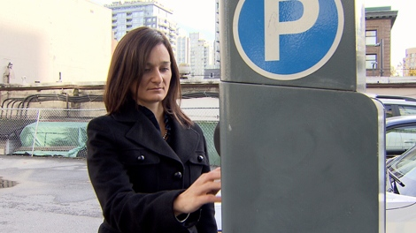 Maple Ridge resident Jugana Bikic was recently shocked to discover how much a night of parking costs in downtown Vancouver once you add the parking tax. (CTV)