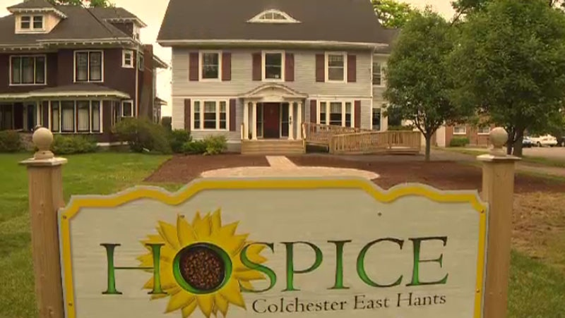 The Colchester East Hants Hospice Society has a new home, made possible by two major donations.