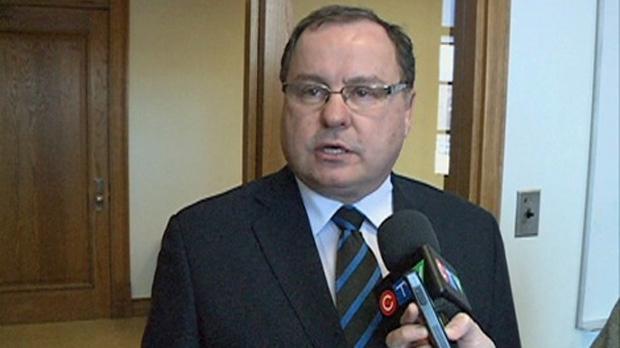 Saskatchewan Economy Minister Bill Boyd