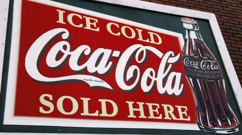 A restored Coca-Cola sign is displayed on a building along Old Route 66 Monday, Oct. 17, 2011 in Springfield, Ill.