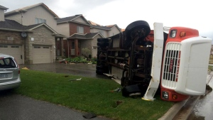 Severe storm ripped through Angus, Ont.
