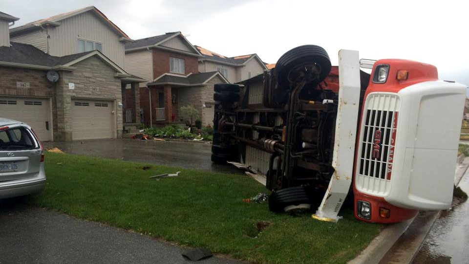 Environment Canada confirms tornado hit southern Ontario community ...