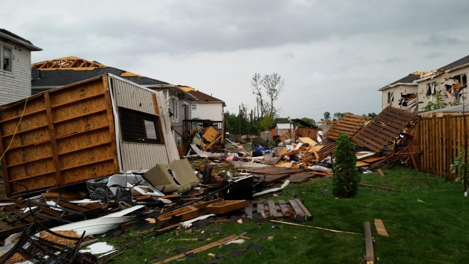 Environment Canada Confirms Tornado Hit Southern Ontario