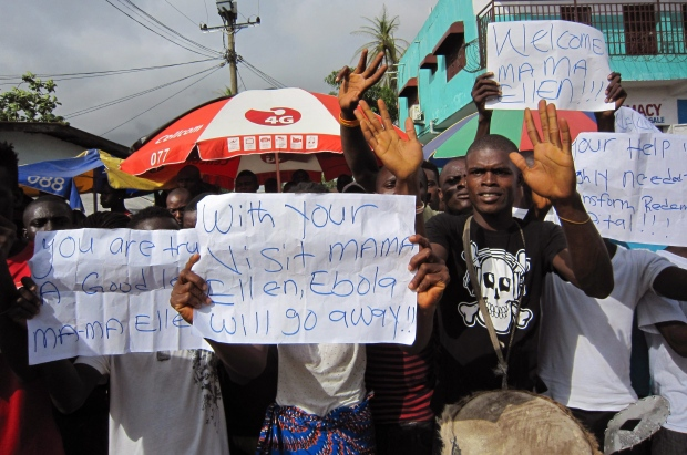 Ebola outbreak spreading