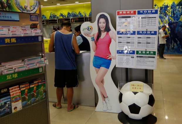 World Cup betting in Asia