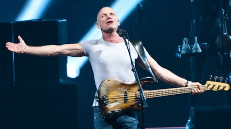Sting takes the stage in Vancouver