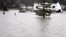 Flooding hits Claresholm, Alta.