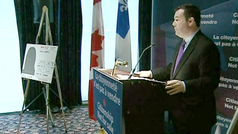 Immigration Minister Jason Kenney says Canadians won't tolerate cheats.