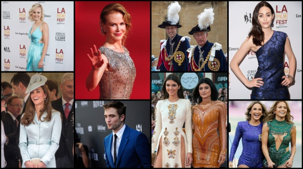 <b>25 Photos: Rhapsody in blue for red carpet fashion </b>